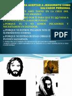 7 Razones Para Aceptar a Jesucristo Como Salvador