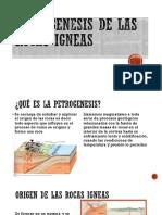 PETROGENESIS DE LAS ROCAS IGNEAS