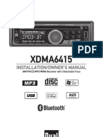 Radio Owners Manual Xdma6415