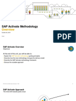 SAP Activate Methodology