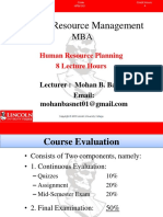 Unit-5a Human Resource Planning