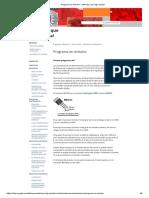 Programa en Arduino -Ascensor de 4 Pisos