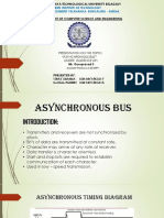 COMPUTER ORGANISATION ASYNCHRONOUS BUS