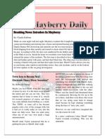 mayberry newspaper