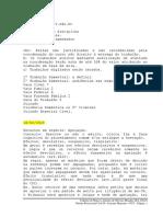 Caderno - Direito Processual Civil II