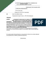 Informe Nº 013 Soporte