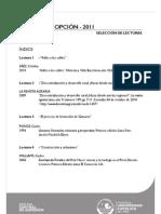 Lecturas La Primera Opción-2011