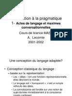 Cours de pragmatique (Intro).PPT