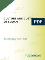 Customs of Sudan