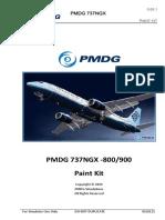 PMDG 737 PAINT KIT
