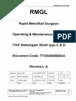 11kV Switchgear 8DJH type C & D (O & M Manual)_A.pdf