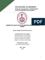 8vo informe - Diseño de una planta de Etileno verde.
