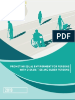 Promoting Equal Environment for Persons with Disabilities and Older Persons