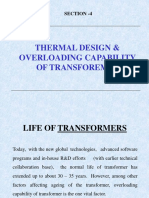 PRESENTATION ON OVERLOADING OF TRANSFORMERS