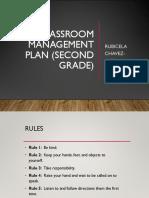 classroom management plan  second grade
