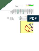 DUCT STIFFNER CALCULATION SHEET FINAL.xls