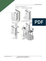 F01S200 cabinet installation modes