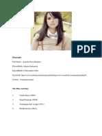 Biography ( Fitri )