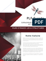 Catalogue Plf Events 2020