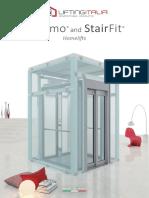 InDomo and StairFit - Homelifts - LiftingItalia