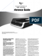 DR-2020U Reference guide