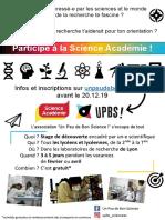 Flyer Lycéens 2019-2020