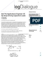 Op Amps Driving Capacitive Loads _ Analog Devices