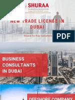 New Trade License in Dubai
