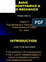 Basic Thermodynamics & Fluid Mechanics