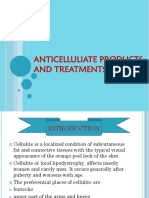 ANTICELLULIATE PRODUCTS AND TREATMENTS