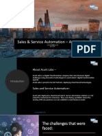 Sales and service automation by Acuiti Labs