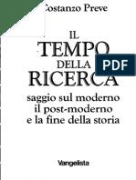 Costanzo Preve - Il Tempo Della Ricerca  - PDF Vangelista (1993)