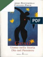 Massimo Bontempelli - Costanzo Preve - Gesù Uomo Nella Storia, Dio Nel Pensiero ( PDF 1997, C.R.T.)
