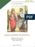 Costanzo Preve - L'Educazione Filosofica (PDF 2000)
