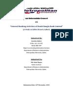 DBBL Internship Report