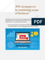 Top PPC Strategies To Widen The Marketing Scope Of Business