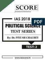 GS Score Political Science 2018_Test -2