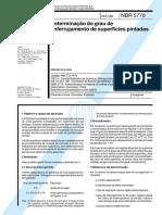 ABNT NBR 5770_1984 - Determinação Do Grau de Enferrujamento de Superfícies Pintadas