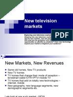 New Television Markets