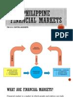 PHILIPPINE Financial Markets