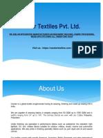 Candor Textiles Pvt Ltd
