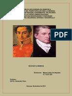 Ensayo Individual Iris Mijares. Bolívar y Monroe