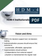 10HDM-4Institutionalization2008-10-22.ppt