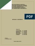 Paper Métodos y Contenidos.