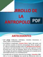 Desarrollo de La Antropología