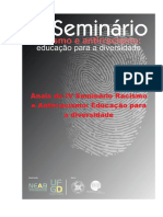 Anais do IV Seminario Racismo e Antirracismo PDF.pdf