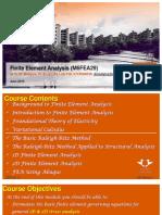 Finite Element Analysis - 2019