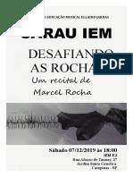 Poster Marcel Rocha