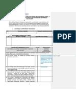 Lista de Cotejo Para Validación de Actividad Autocuidado Para AP- Primaria Multigrado