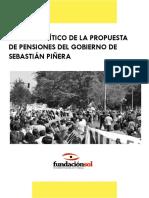 Análisis critico de la propuesta de pensiones de Piñera